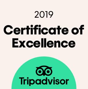 Certificado de Excelência do TripAdvisor